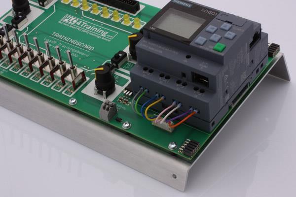 آموزش نصب و سیم بندی PLC LOGO! اتوماسیون صنعتی زیمنس