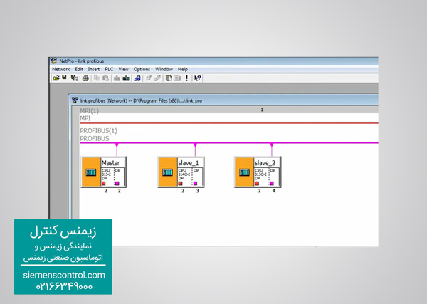 صفحه Configure Network برای Config و ارتباط PLC S7-300
