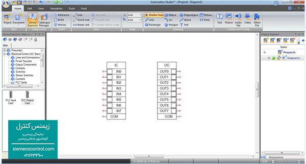اضافه کردن ورودی و خروجی PLC S71200 زیمنس - زیمنس کنترل
