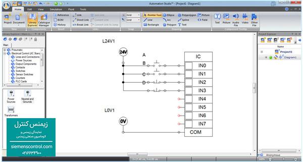 آموزش سیم بندی ورودی PLC S71200 زیمنس - نمایندگی زیمنس ایران