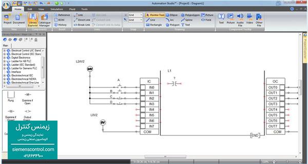 آموزش ورودی و خروجی های PLC s71200 زیمنس