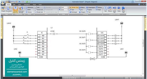 آموزش پی ال سی PLC S71200 زیمنس