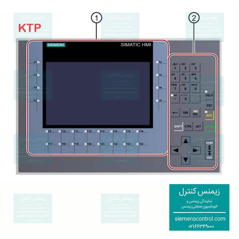 نمایندگی زیمنس - پانل HMI - KTP