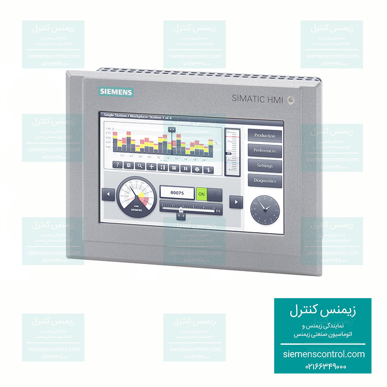 نمایندگی زیمنس - آموزش PLC S7-1500 زیمنس - انواع پانل های اپراتوری HMI